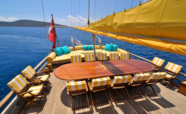 Luxury sailing holidays in Greece