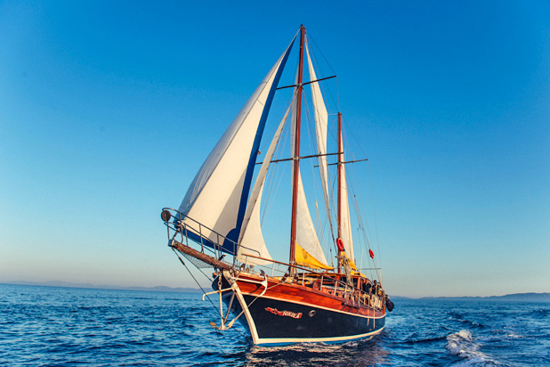 Gulet yacht for luxury sailing charter in Greece & Turkey