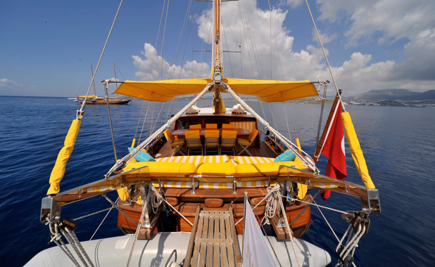 Turkish & Greek Island Aegean charter yacht for 8 guests
