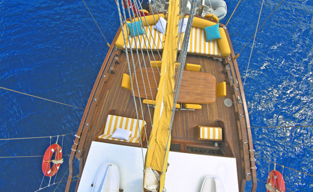 Private luxury gulet yacht vacations in the Greek islands