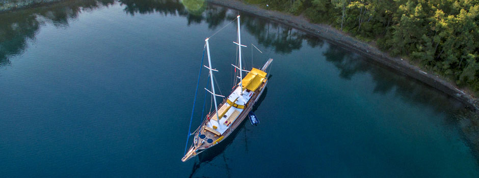 Boutique gulet yachts for Blue Cruise private hire in Turkey